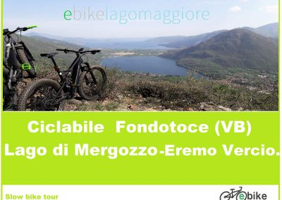 Feriolo-Fondotoce-Lago di Mergozzo- Eremo di Vercio.